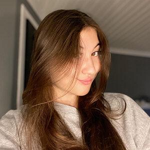 Portrait image of Karina Isahanova from Hemkodat